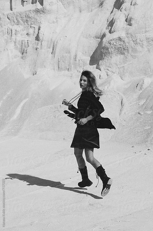 Quarry photo shoot by Natasa Kukic for Stocksy United