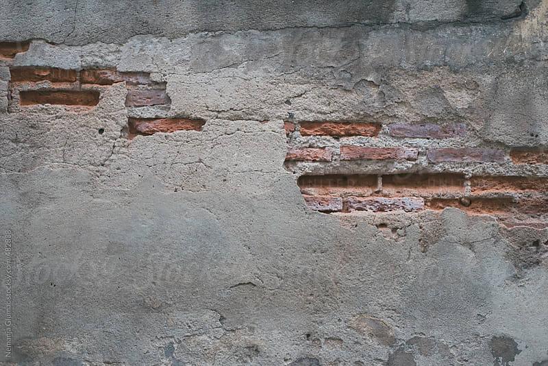 Damaged Brick Wall Texture by Nemanja Glumac for Stocksy United