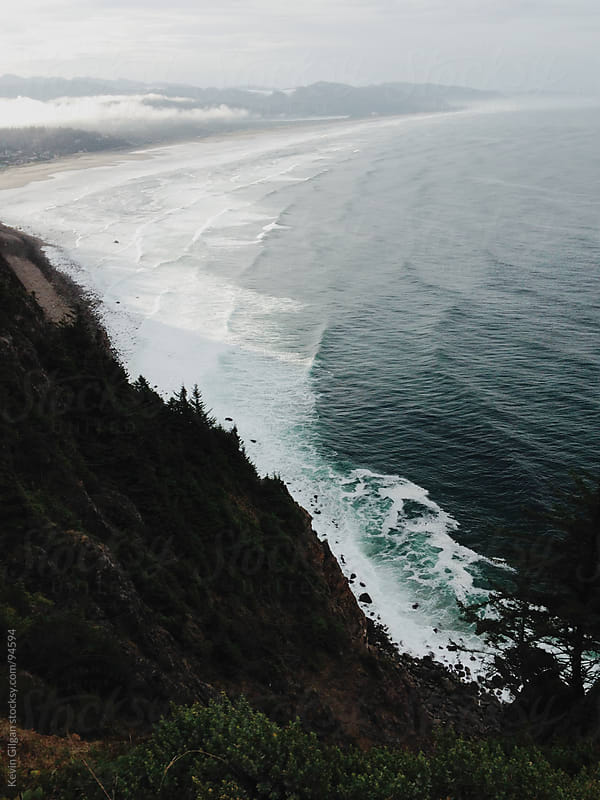 Morning on the Oregon Coast by Kevin Gilgan for Stocksy United
