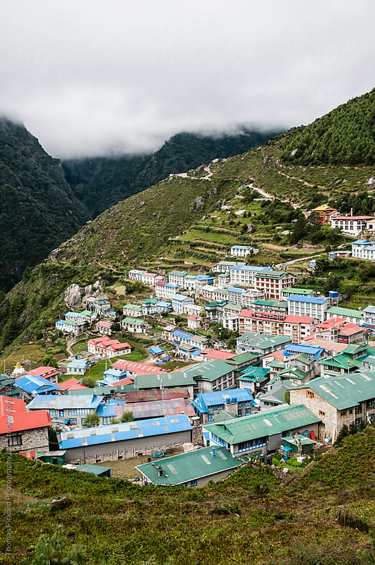Namche Bazaar, Everest Region, Sagarmatha National Park, Nepal.  by Thomas Pickard for Stocksy United
