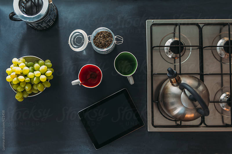 Modern Kitchen Worktop by Lumina for Stocksy United