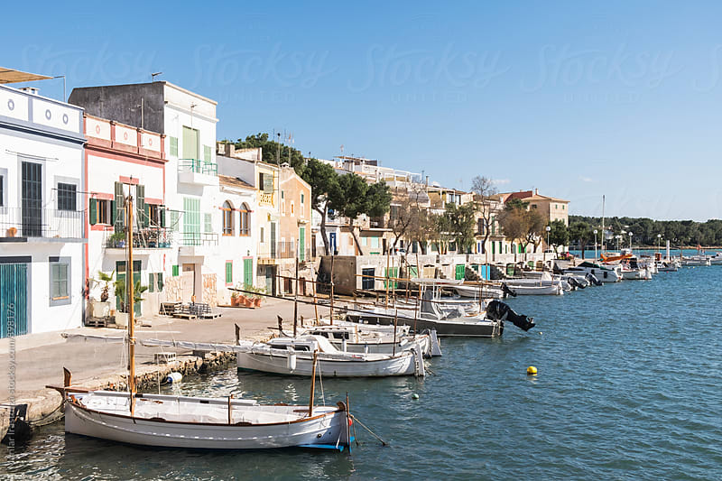 Fishing mediterranean village by Marilar Irastorza for Stocksy United