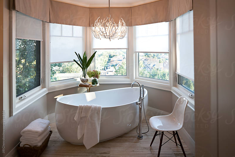 Modern Bathroom by Jill Chen for Stocksy United