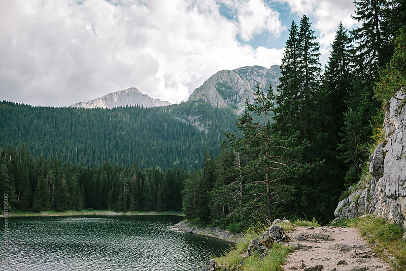 The Black Lake, Durmitor by Zocky for Stocksy United