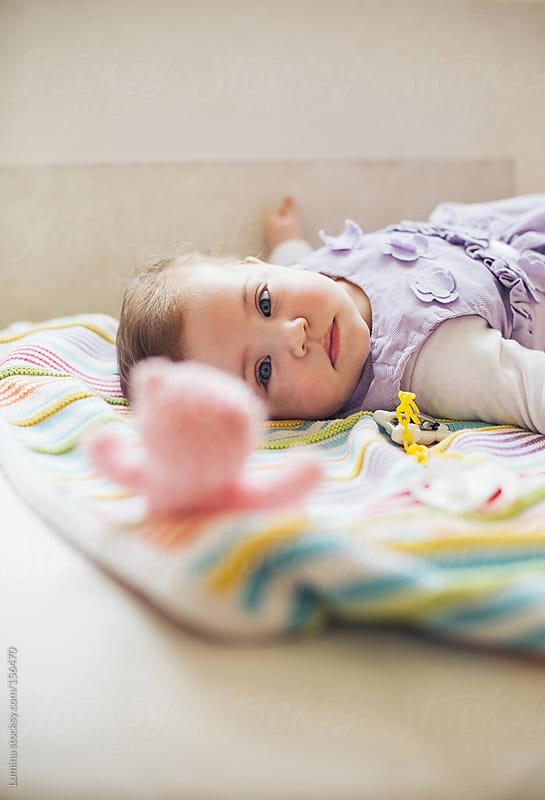 Cute Baby Girl by Lumina for Stocksy United
