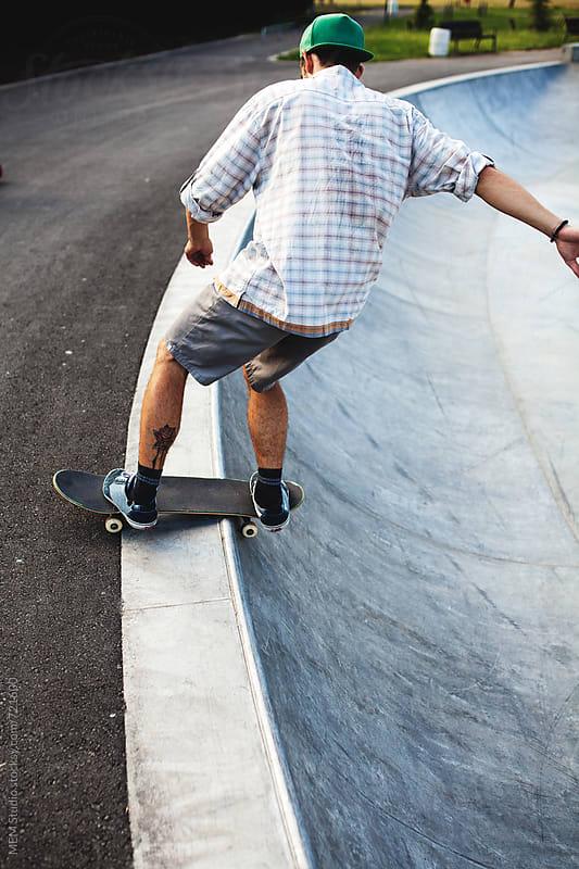 skating in Burgas by MEM Studio for Stocksy United
