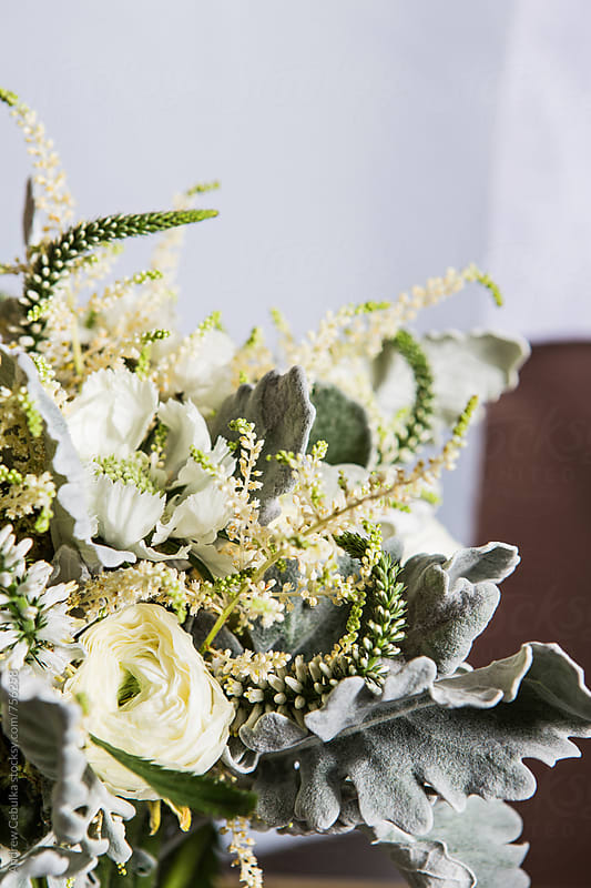 Wedding florals by Andrew Cebulka for Stocksy United