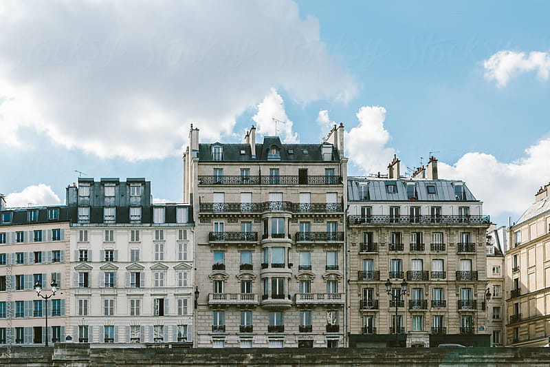 Paris - French architecture by Zocky for Stocksy United