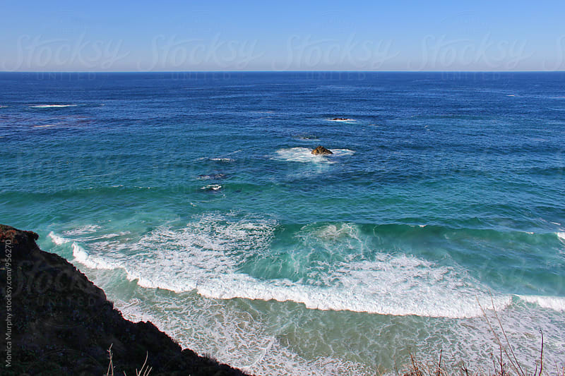 Beautiful California Coastline; Big Sur by Monica Murphy for Stocksy United