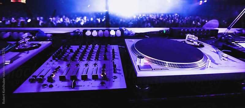 DJ turntables by Robert Kohlhuber for Stocksy United