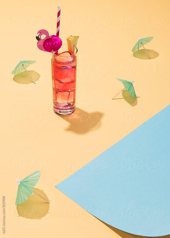 Long drink summer fun by W + M for Stocksy United