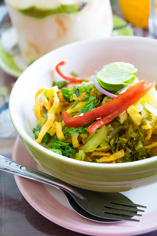 Khao Soi by Nicole S. Young for Stocksy United