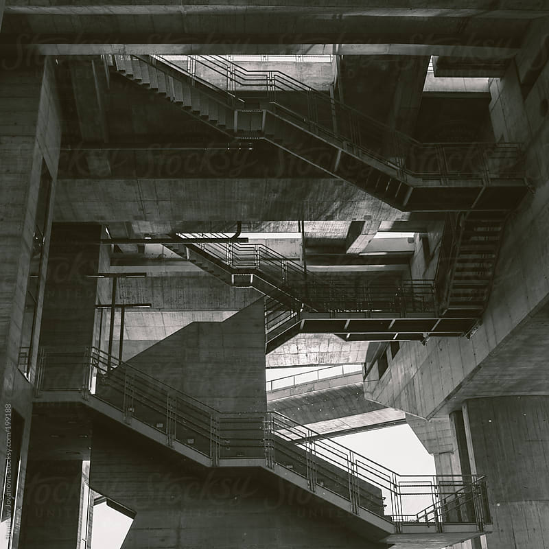 Stairs  by Brkati Krokodil for Stocksy United