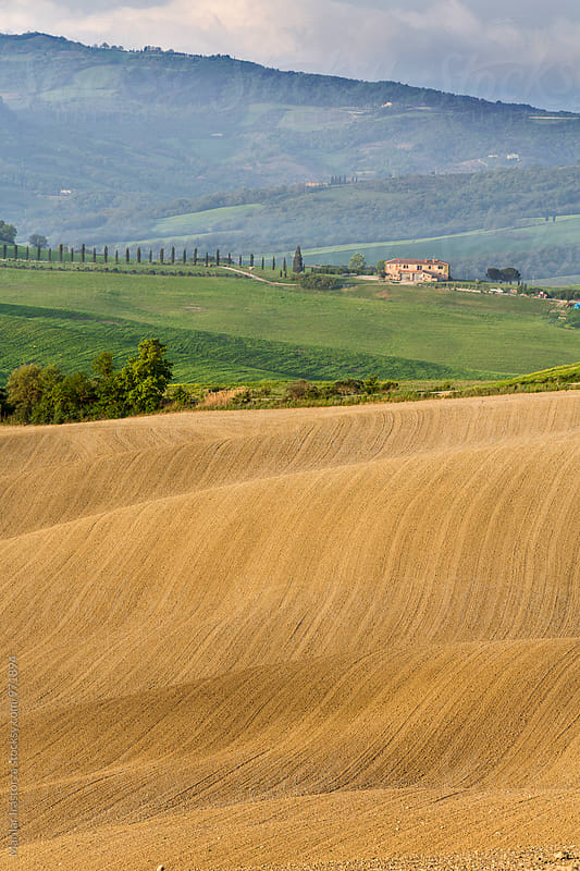Farmhouse in Tuscany by Marilar Irastorza for Stocksy United