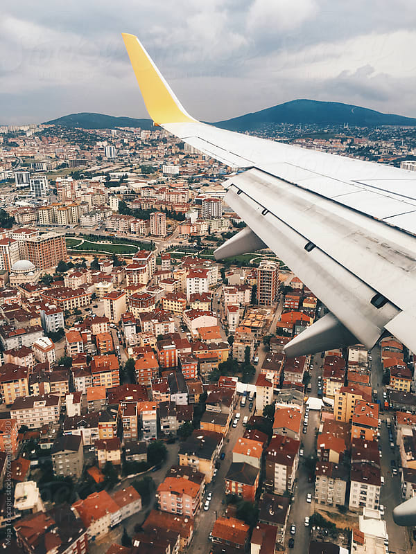 View on Istanbul from above by Maja Topcagic for Stocksy United