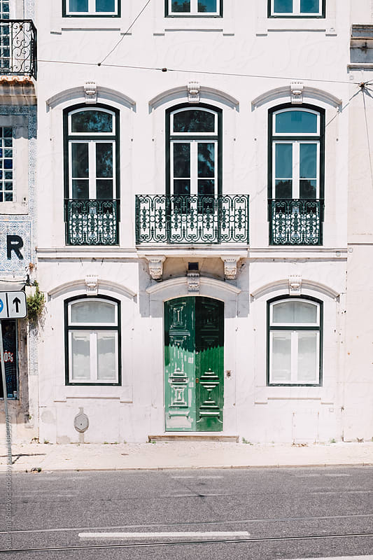 Beautiful Old Building in Lisbon, Portugal by Katarina Radovic for Stocksy United