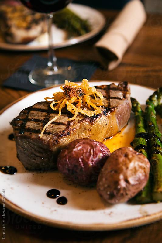 stock photo: strip steak