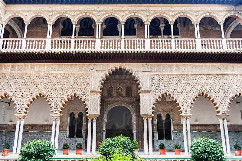 Arab courtyard  by ACALU Studio for Stocksy United