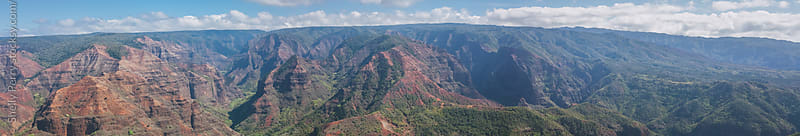 Waimea Canyon on Kauai, Hawaii by Shelly Perry for Stocksy United