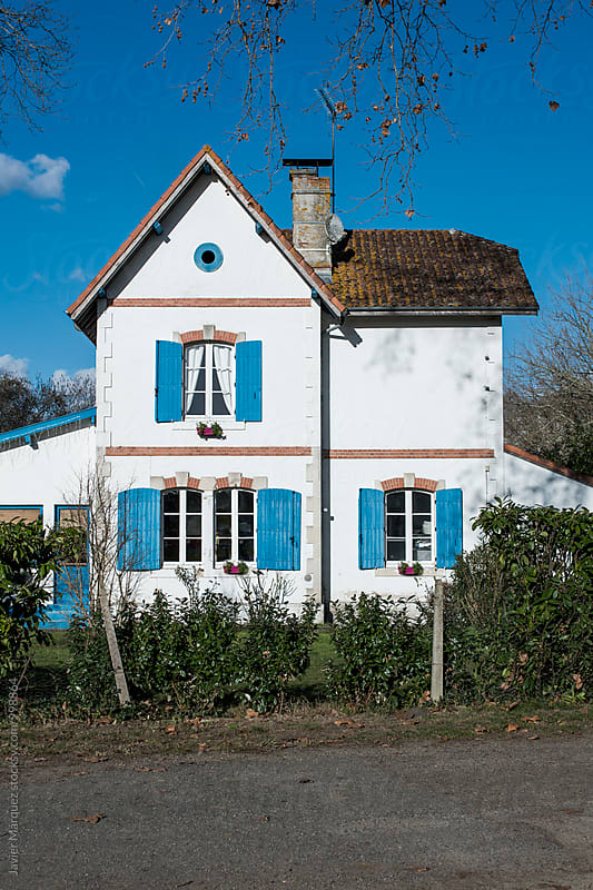 Typical french house by Javier Marquez for Stocksy United