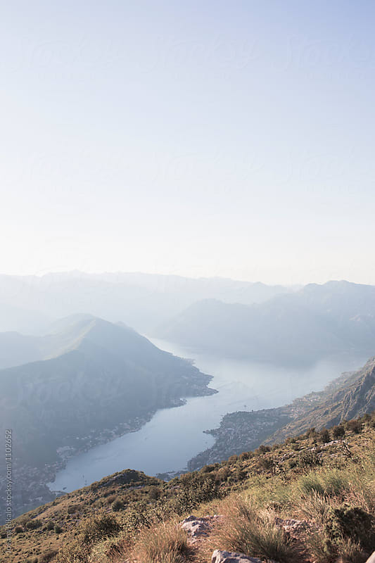 View of Kotor Bay, Montenegro by Jovana Rikalo for Stocksy United