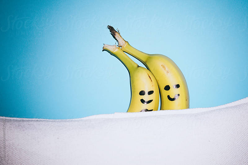 Banana couple by Marcel for Stocksy United
