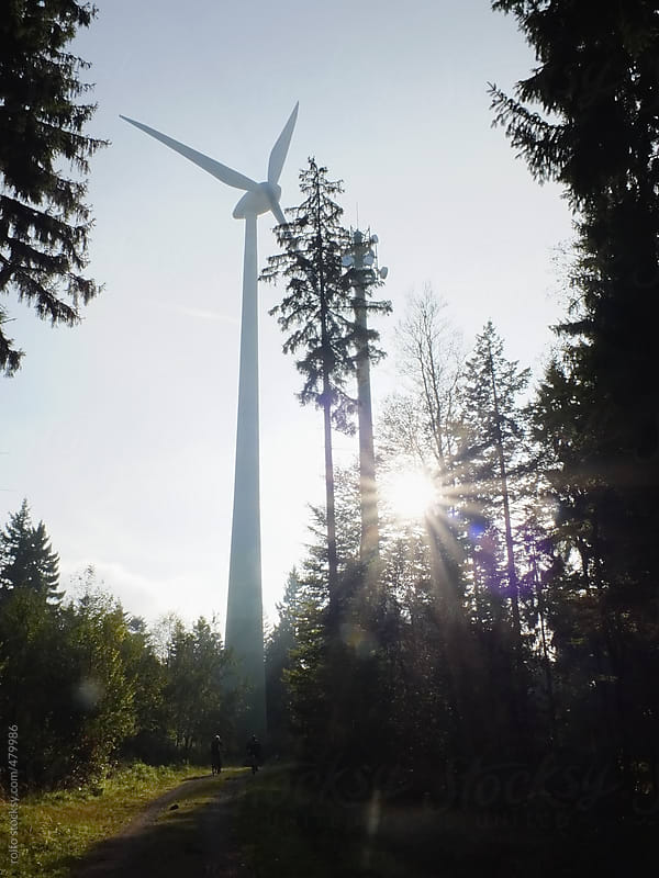 wind wheel in wood by rolfo for Stocksy United