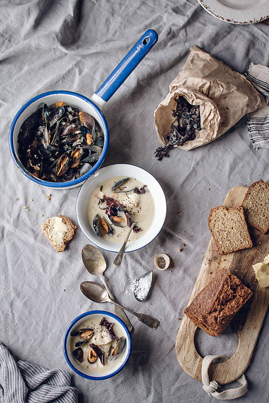 Seafood Feast by Hung Quach for Stocksy United