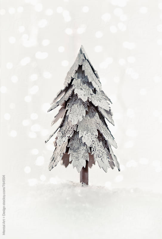 Christmas Tree  by Mental Art + Design for Stocksy United