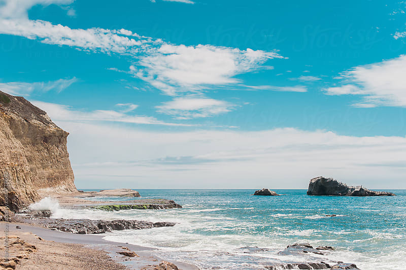 Ocean Landscape on West Coast of California by Briana Morrison for Stocksy United