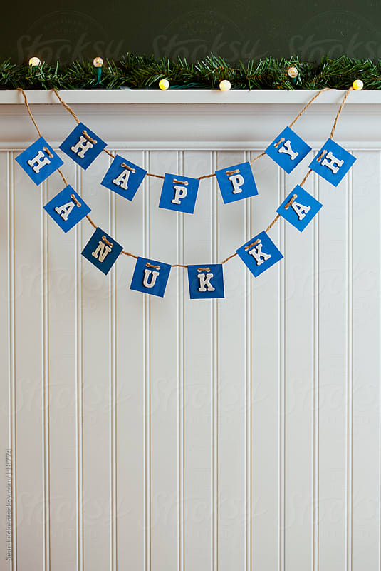 Holidays: Festive Hanukkah Decoration by Sean Locke for Stocksy United