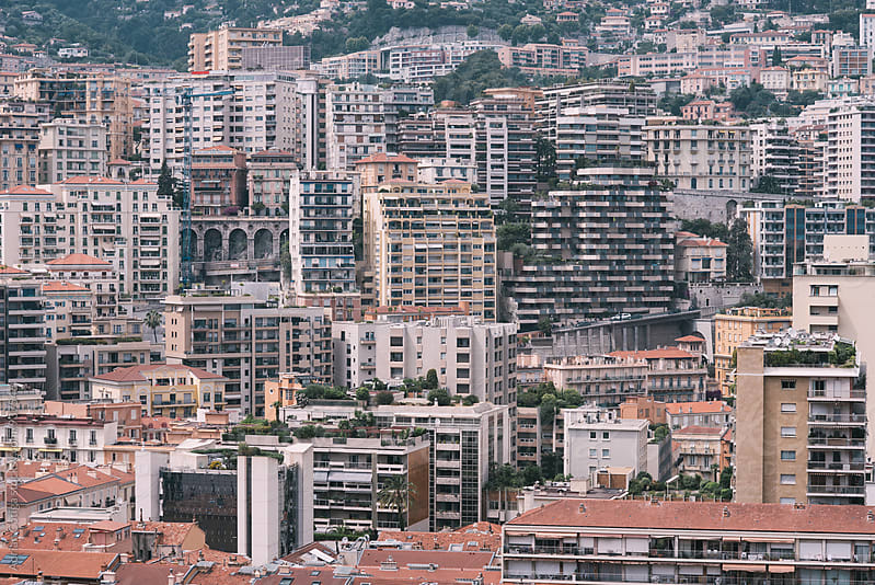 South of france cityscape by Adrian Cotiga for Stocksy United