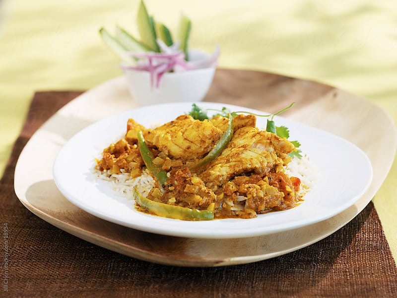 Fish Curry by Jill Chen for Stocksy United