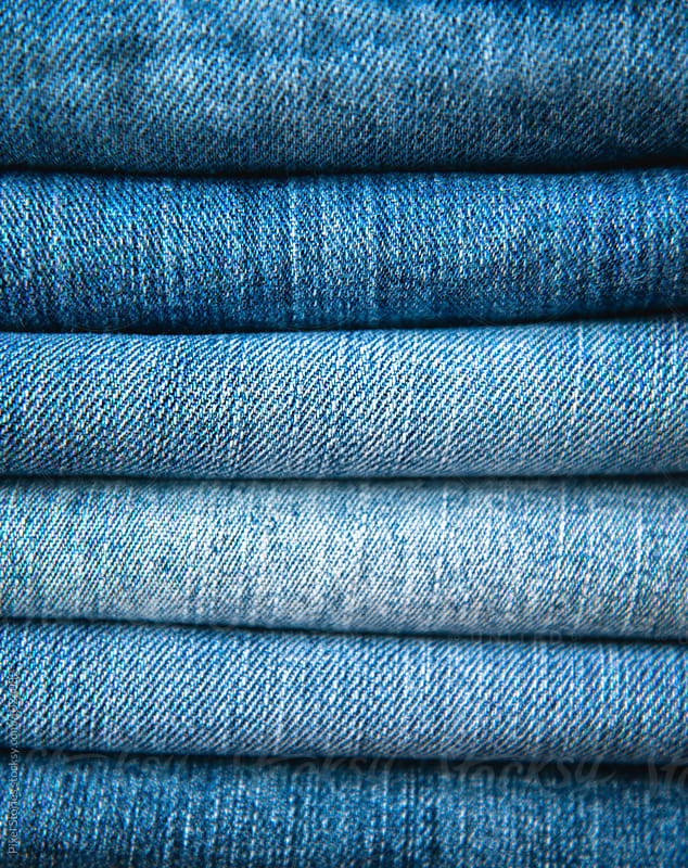 Denim background by Pixel Stories for Stocksy United