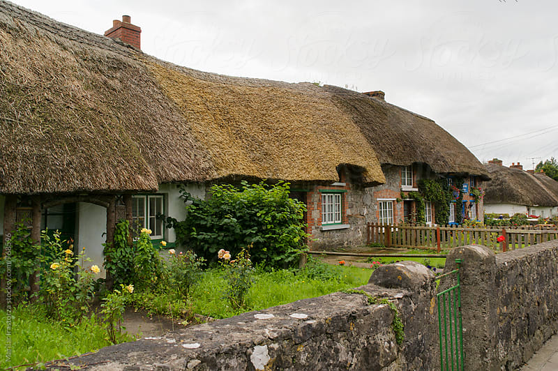 Traditional Irish Cottages by Marilar Irastorza for Stocksy United