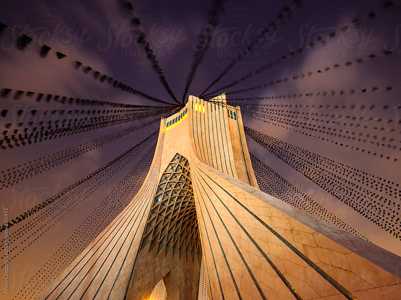 Azadi Tower, Iran.  by Amos Chapple for Stocksy United