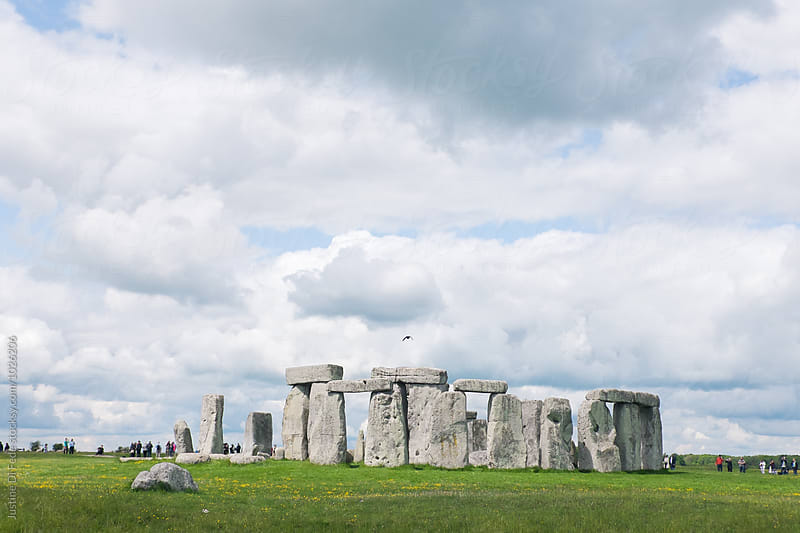 Stonehenge in Spring by Justine Di Fede for Stocksy United