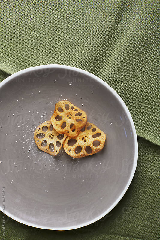 Lotus root chips by Asami Zenri for Stocksy United
