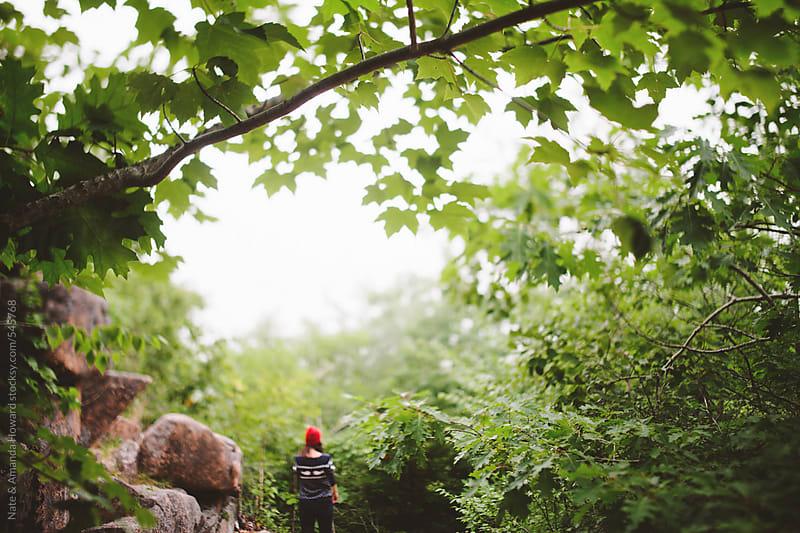 Exploring the coast of Maine by Nate & Amanda Howard for Stocksy United