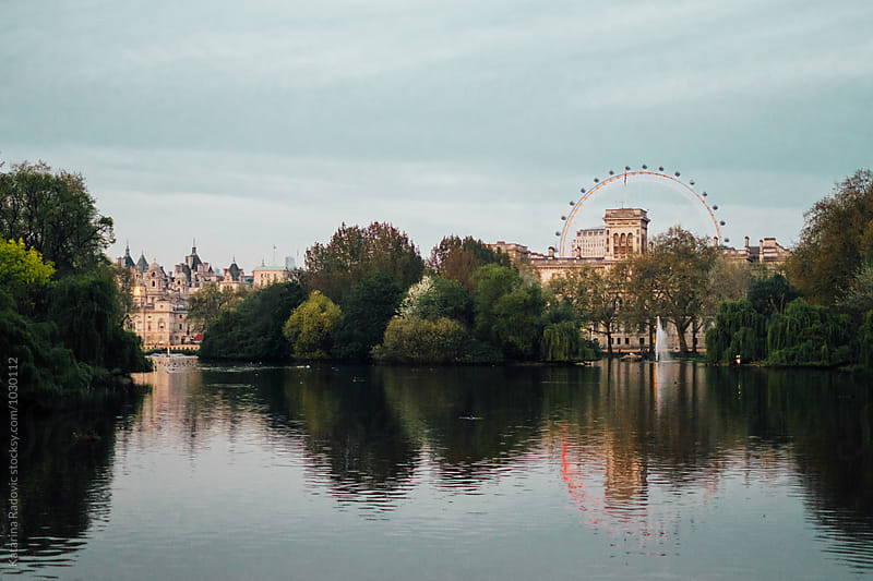 Beautiful View of a London Park by Katarina Radovic for Stocksy United