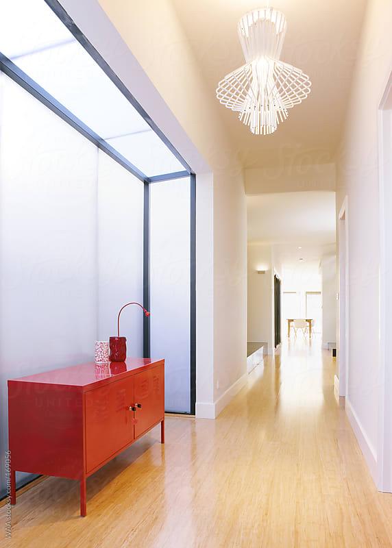 Modern Domestic Hallway by WAA for Stocksy United