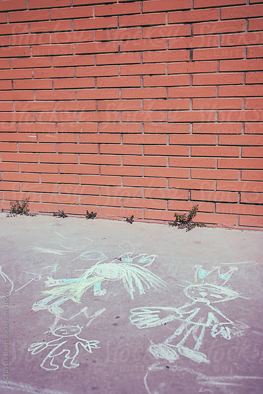 Chalk drawings. by CACTUS Blai Baules for Stocksy United