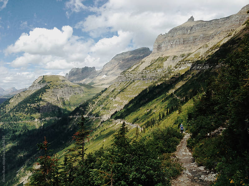 Mountain Trail by Kevin Russ for Stocksy United