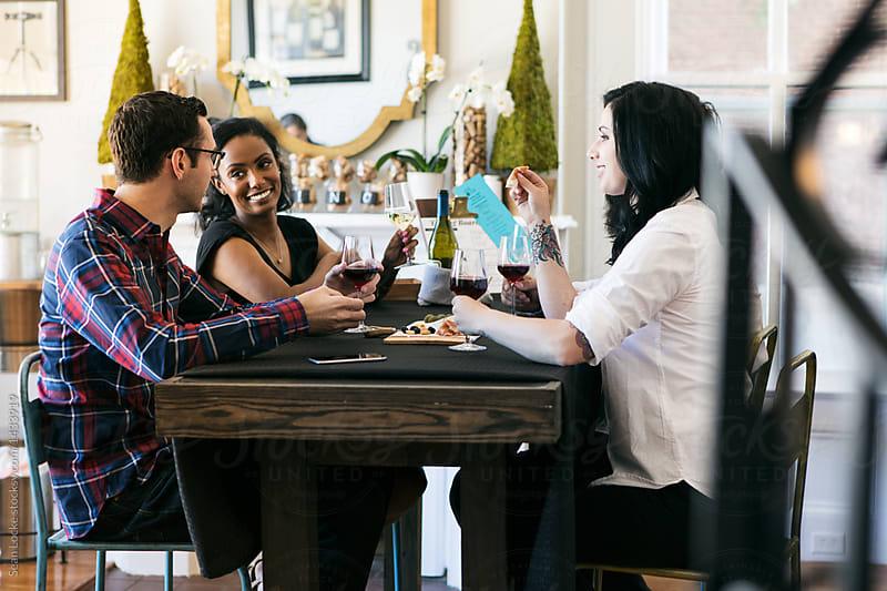 stock photo: wine tasting