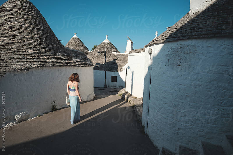 The trulli, the characteristic cone-roofed houses of Alberobello by Branislav Jovanović for Stocksy United
