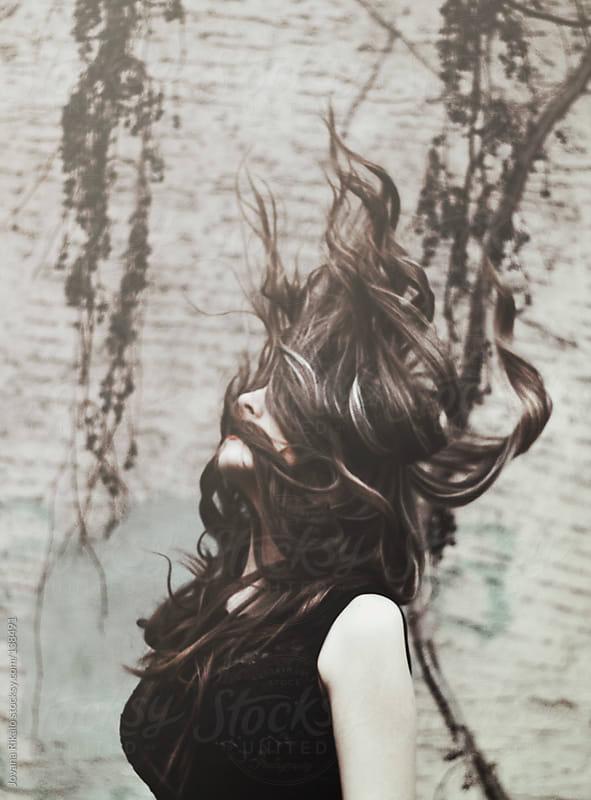 Flyaway hair by Jovana Rikalo for Stocksy United