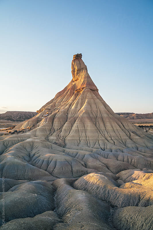 Castildetierra, a mountain of sand eroded by ACALU Studio for Stocksy United