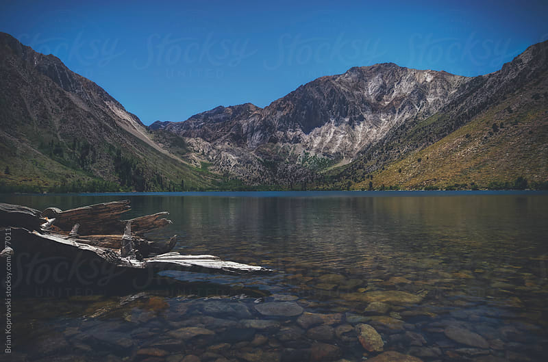 Convict Lake  by Brian Koprowski for Stocksy United