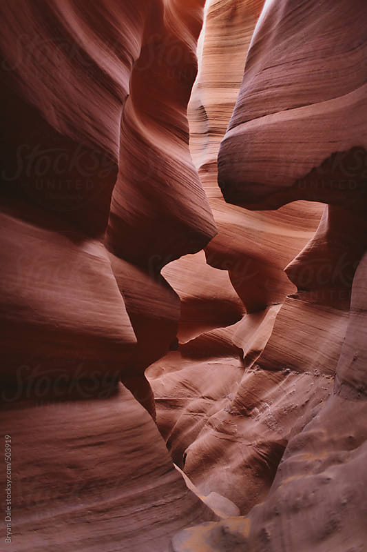 Antelope Canyon  by Bryan Dale for Stocksy United