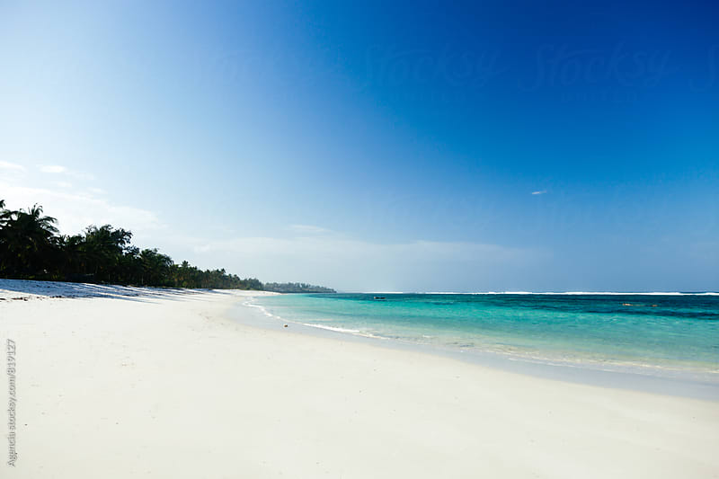 Empty Beach by Agencia for Stocksy United